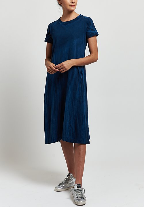 Gilda Midani Maria Dress in Indigo Blue
