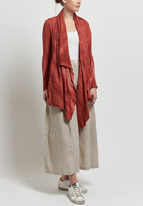 Gilda Midani Short Karan Cardigan in Orange