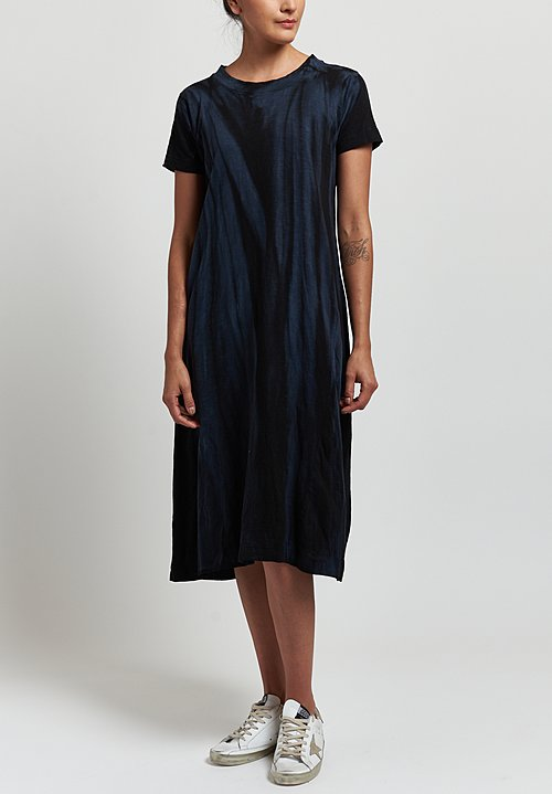 Gilda Midani Maria Dress in Marble Black