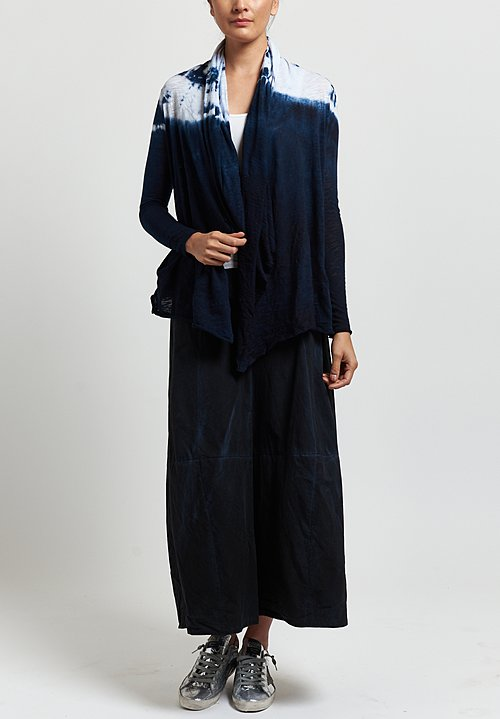 Gilda Midani Short Karan Cardigan in Blue