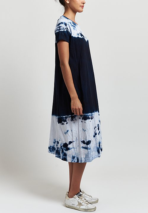 Gilda Midani Maria Dress in Sky Wave