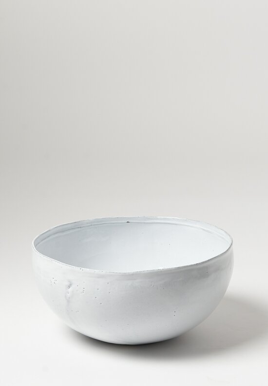Astier de Villatte Large Simple Salad Bowl in White