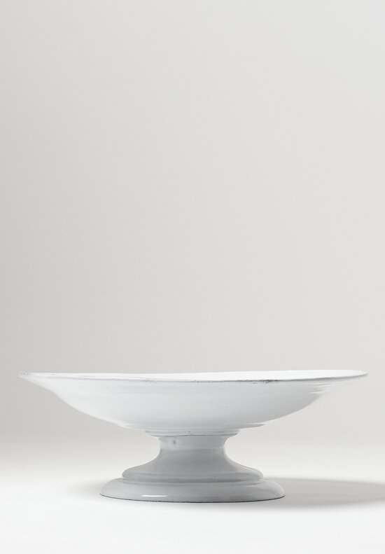 Astier de Villatte Simple Large Fruit Stand in White