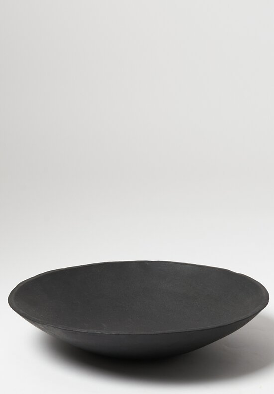 Danny Kaplan Handmade Ceramic Large Serving Bowl in Black