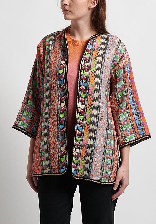 ETRO Kesa Multiprint Jacket in Multicolor