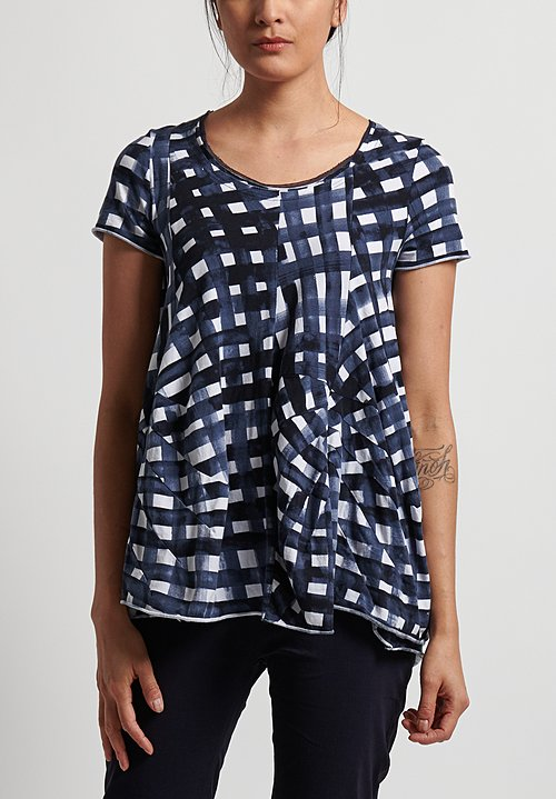 Rundholz Black Label T-Shirt in Martinique Print