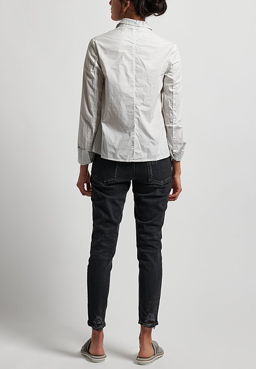Rundholz Black Label Button Front Shirt in Cliff