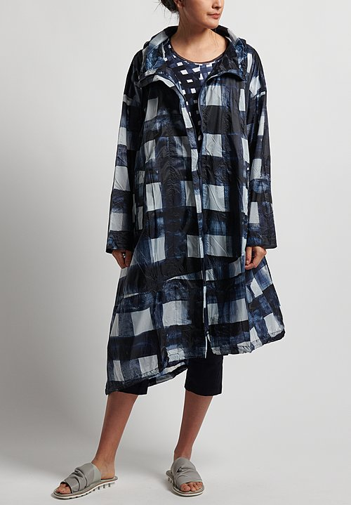 Rundholz Black Label Oversized Windbreaker Coat in Martinique