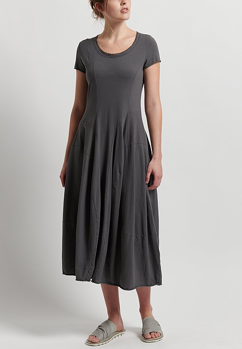 Rundholz Black Label Ballooned Dress in Rock