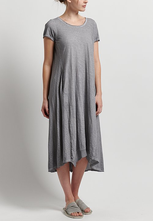 Rundholz Black Label Jersey A-Line Dress in Pebble