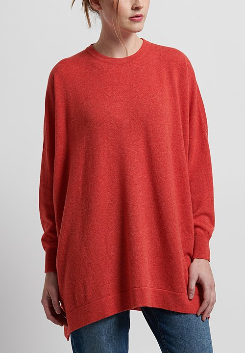 Hania New York Cashmere Marley Crewneck in Spark