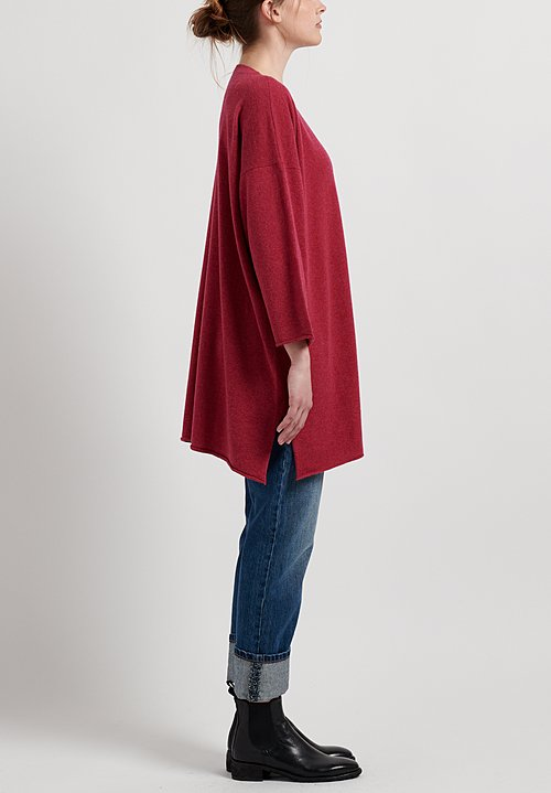 Hania New York Cashmere Sylvie V-Neck Sweater in Kapoor