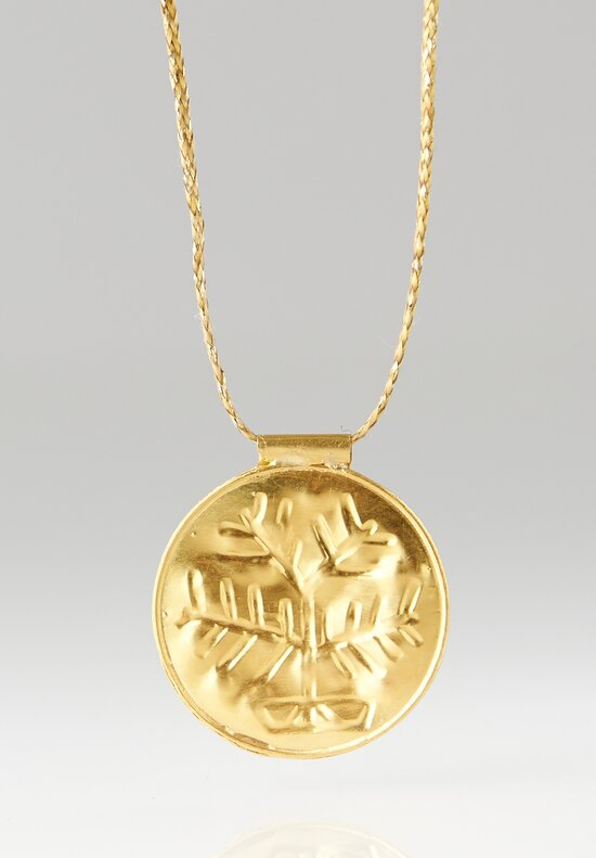 Pippa Small 18K, Gold Tree Pendant Necklace