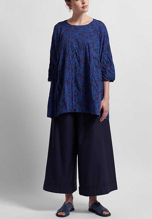 Daniela Gregis Drawstring Pants in Blue
