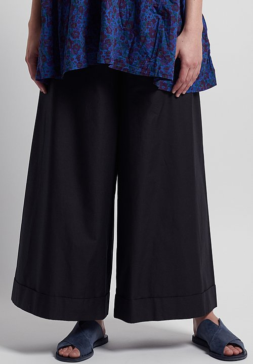 Daniela Gregis Drawstring Pants in Black