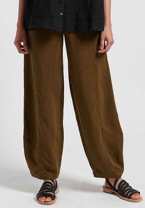 Oska Aegir Round Leg Trousers in Savanna
