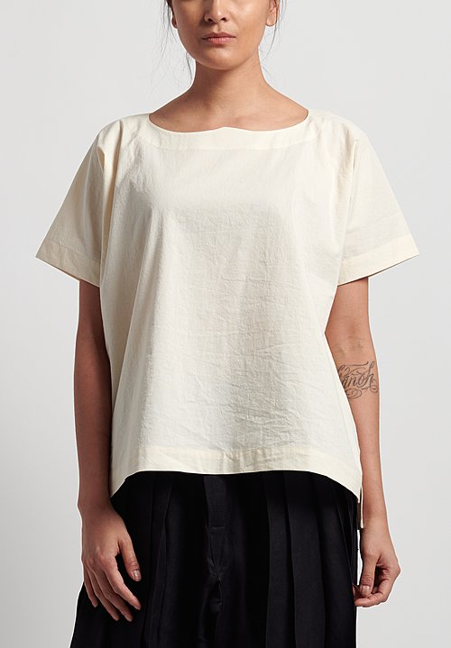 Jan-Jan Van Essche Cotton Short Tunic in Kinari