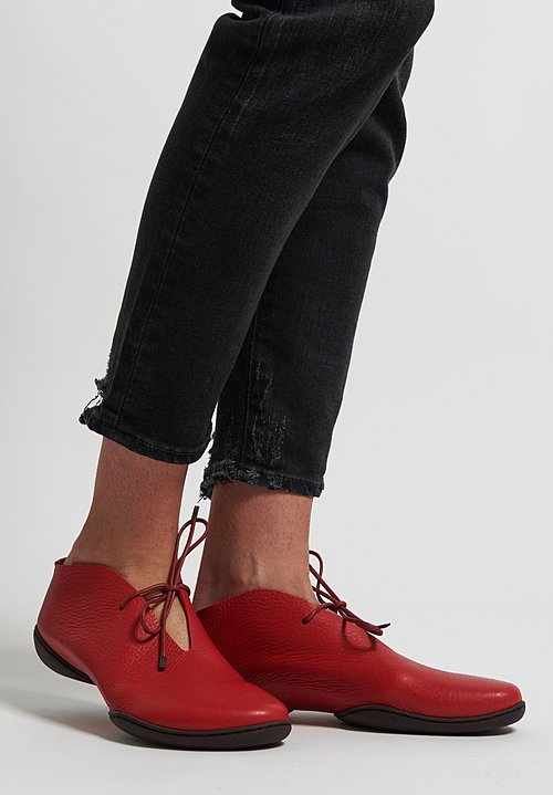 Trippen Summer Shoe in Red