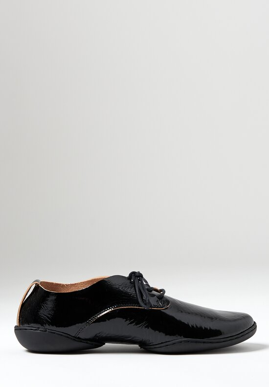 Trippen Pot Lace-Up Shoe in Black