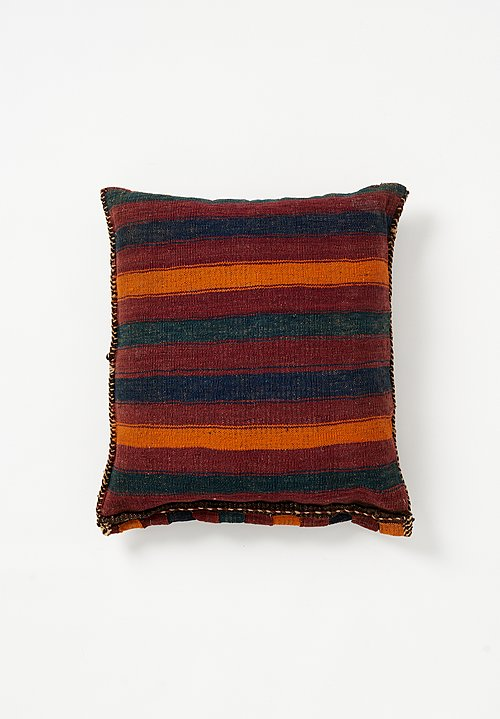 Wool Woven Diamond & Zig Zag Pillow