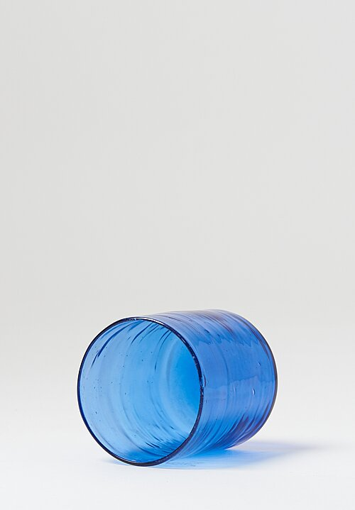 La Maison Dar Dar Handblown Glasses in Blue
