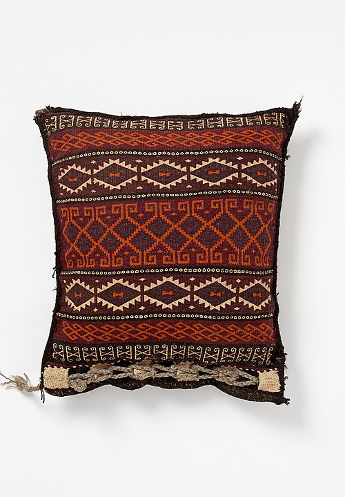 Wool Afghan Wool Woven Multi-Pattern Pillow
