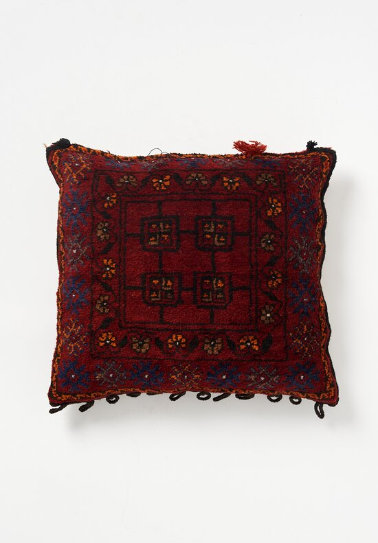 Wool Hand-Knotted Pillow
