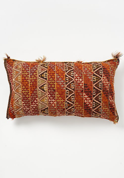 Wool Turkish Fethiye Slit Weave Pillow
