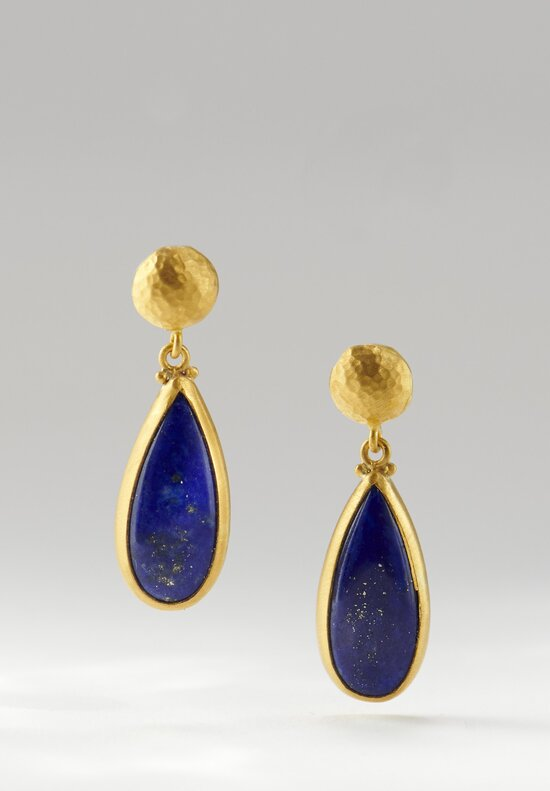 \Lika Behar 24K, Lapis Modern Earrings