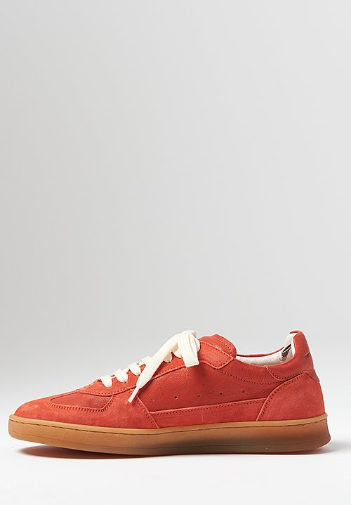Officine Creative Kadett Oliver Sneaker in Scarlet