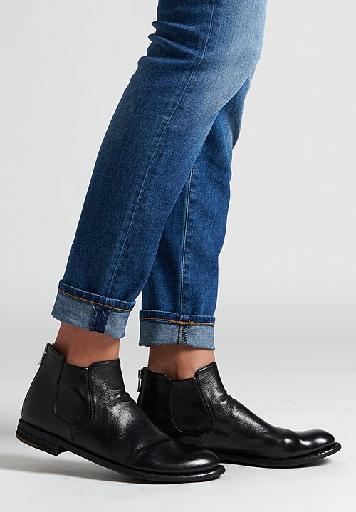 Officine Creative Lexikon Ignis T Ankle Boot in Nero
