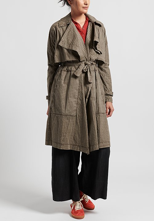 Masnada Poplin Trench in Dust