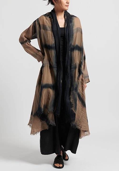 Masnada Long Cardigan in Dust