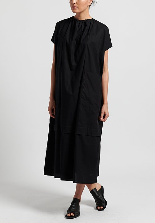 Toogood Fine Cotton Poet Dress in Flint