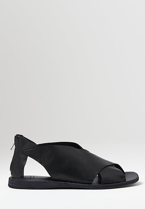 Officine Creative Itaca Rest Sandals in Nero