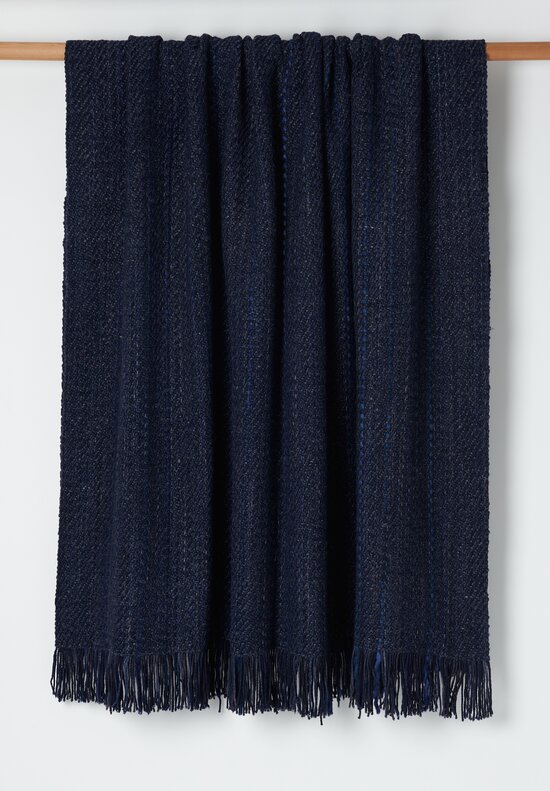 Wehve Merino Wool Large April Blanket Nuit