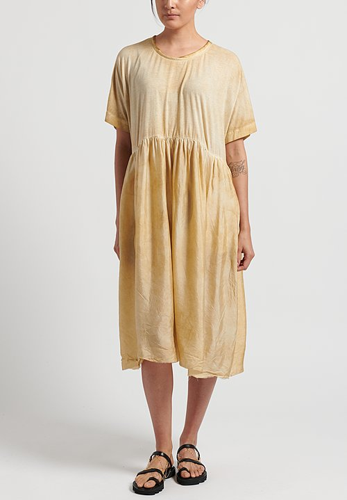 Uma Wang Cotton Dana Dress in Tan