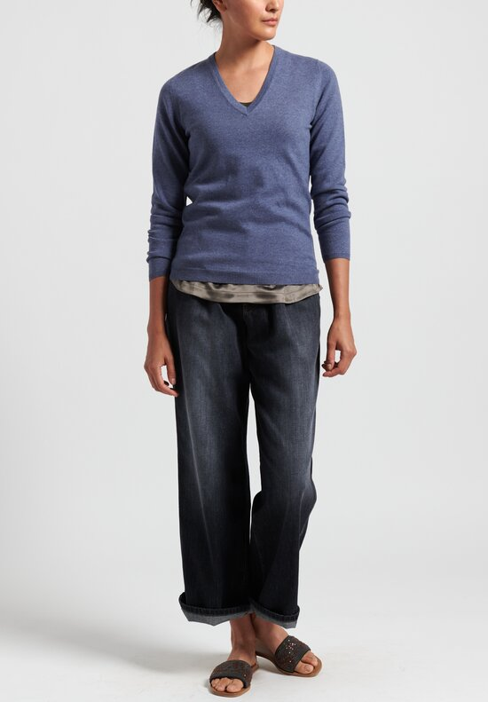 Brunello Cucinelli Cotton Relaxed Jeans