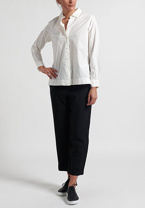 Casey Casey Cotton Chloe Shirt in White