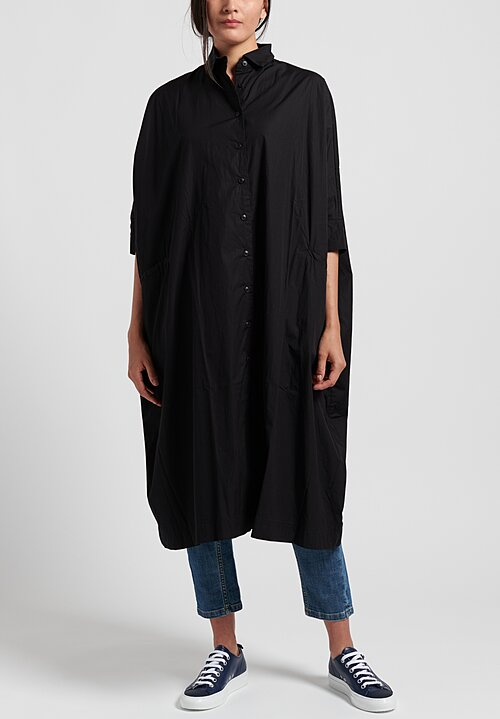 Casey Casey Cotton Oversized Atom Shirt Dress