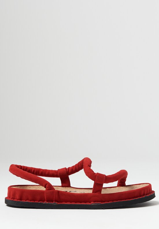 Trippen Zigzag Sandal in Red
