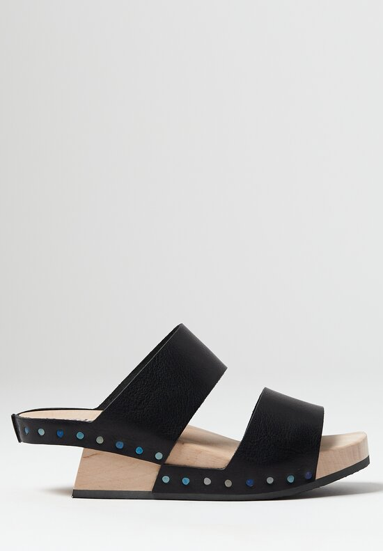 Trippen Candy Sandal in Black