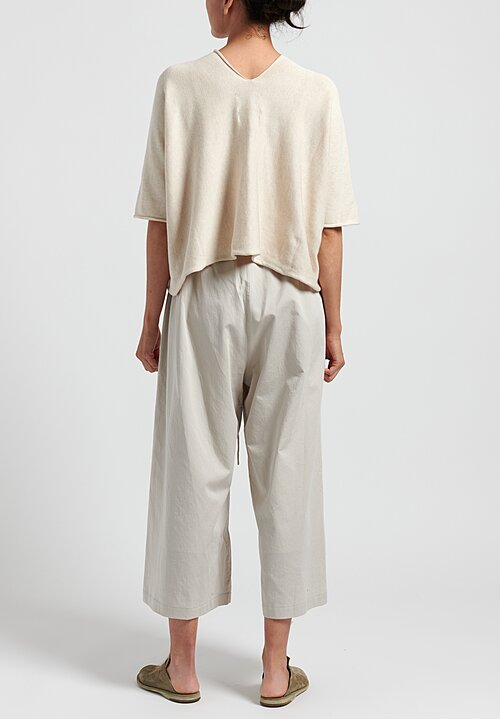 Lauren Manoogian Cotton/Silk Dormer Pants