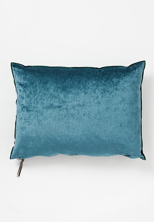 Maison de Vacances Large Royal Velvet Pillow Monte Carlo