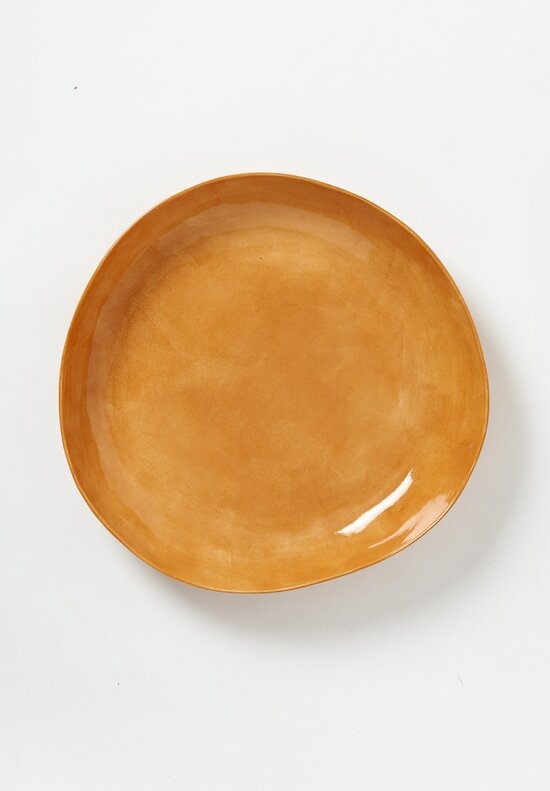 Bertozzi Solid Shallow Serving Bowl in Orange