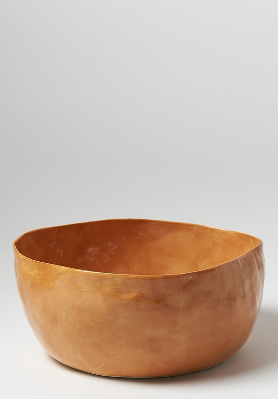 Bertozzi Solid Irregular Serving Bowl in Bruno
