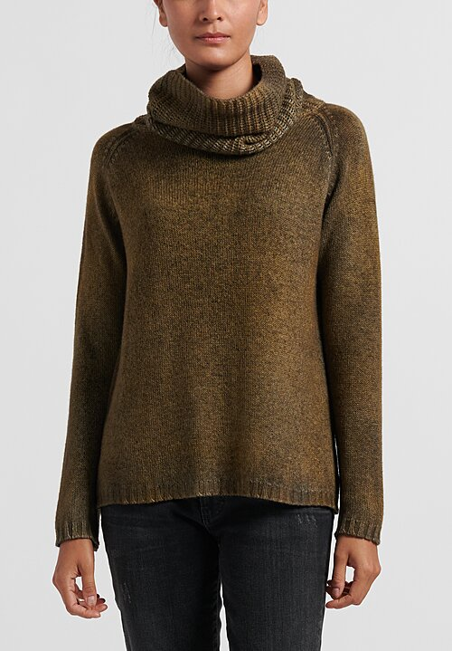 Avant Toi Turtleneck Raglan Sleeve Sweater