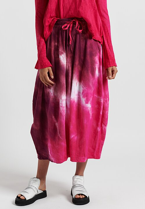 Gilda Midani Pattern Dyed Y Skirt