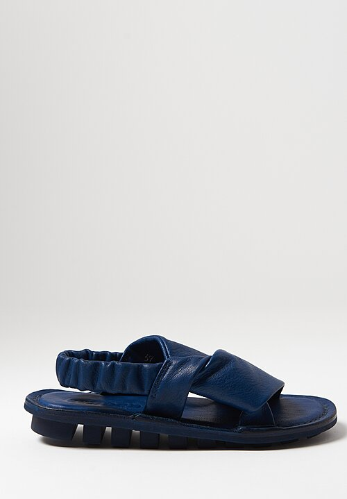 Trippen Embrace Sandal in Navy