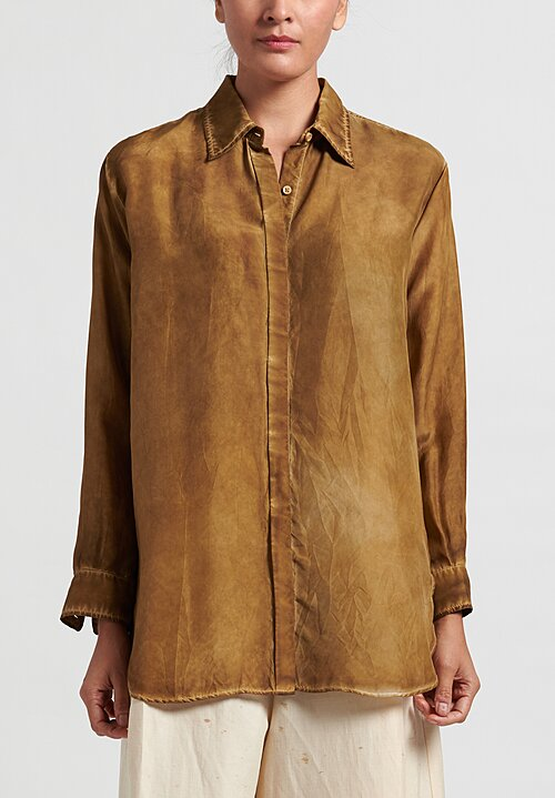 Uma Wang Tyesha Top in Tan